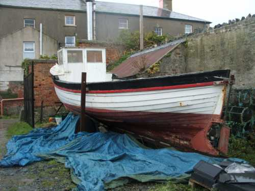 For Sale: 27 ft Double Ender project