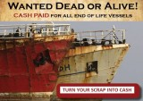 WANTED-END OF LIFE VESSELS