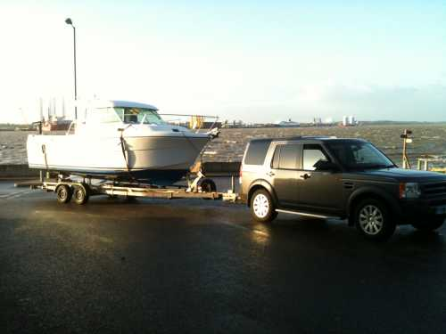 trailer hire and boat transport
