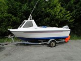Warrior 165 Mark2. Mariner 60hp 4 stroke. Hallmark trailer